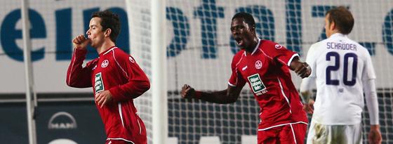 Alexander Baumjohann, Mo Idrissou & Oliver Schröder