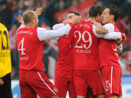 Banovic & Co. beim Torjubel