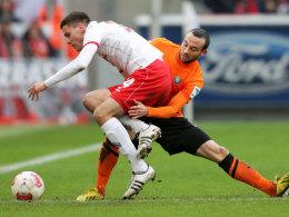Hector (li.) vs. Müller