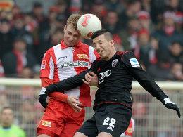 Christoph Menz (links) gegen Iljian Micanski