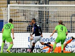 Oumari belohnte die Bemühungen der Bornheimer mit dem Tor zum 1:0.
