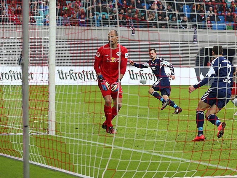 RB Leipzig - FC Ingolstadt 04 0:1, 2. Bundesliga, Saison 2014/15, 16 ...
