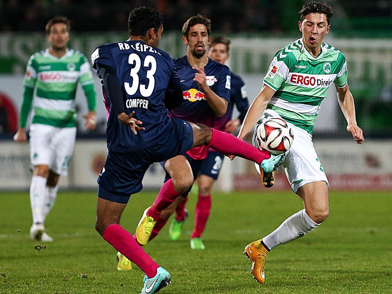 Spvgg Greuther Fürth Rb Leipzig 01 2 Bundesliga Saison 201415