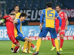 Braunschweig gegen Düsseldorf