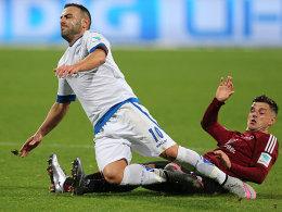 Mahir Saglik gegen Tim Leibold