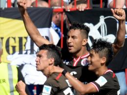 Cenk Sahin bringt St. Pauli die ersten Punkte