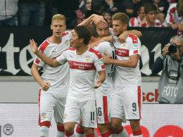 Großkreutz schlenzt Stuttgart zum Sieg
