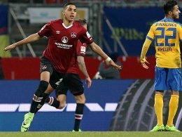 Trotz Sabiri-Treffer: Club nur Remis gegen BTSV