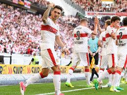 Zimmermann hämmert Stuttgart in die 1. Liga