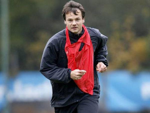 Tomas Votava beim Training