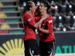 Matthias Morys (li.) und Sokol Kacani