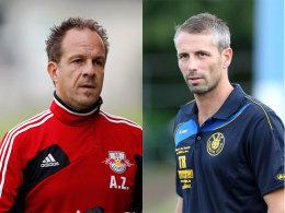 Treffen am dritten Spieltag mit ihren Teams aufeinander: Alexander Zorniger und Marco Rose.