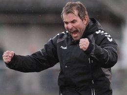 Rosenheims Trainer Dirk Teschke