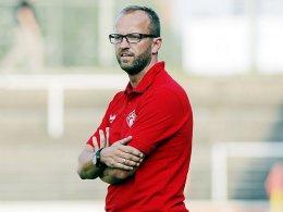 Würzburgs Trainer Dieter Wirsching