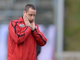 RWE-Trainer Waldemar Wrobel