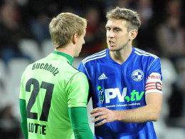 David Buchholz und Tobias Willers