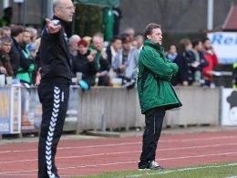 Dieter Liebertwirth (re., neben Hof-Coach Norbert Schlegel).