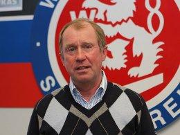 Optimistisch: Der ehemalige WSV-Profi Reinhold Fanz soll den Verein in der Regionalliga halten.