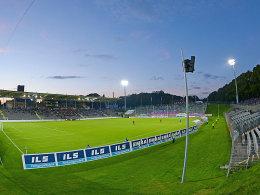 Im Stadion am Zoo, der Spielstätte des Wuppertaler SV, wird in der nächsten Saison Oberliga-Fußball gespielt.