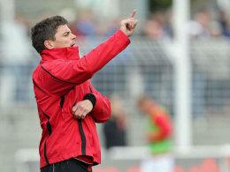 Will nach oben: Zwickaus Trainer Thorsten Ziegner.