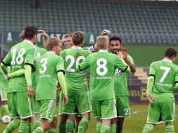 Insgesamt acht Mal durfte die VfL-Reserve gegen Rehden jubeln.