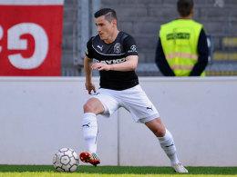 Weiter für Siegen am Ball: Mittelfeldmann Manuel Glowacz hat seinen Kontrakt bei den Sportfreunden verlängert.