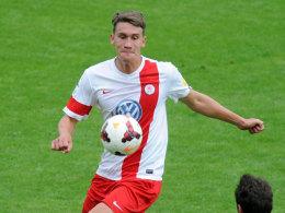 Geht künftig für Lotte in den Zweikampf: Innenverteidiger Matthias Rahn kommt von Hessen Kassel.