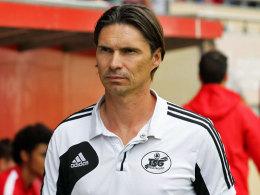 Hat seinen Vertrag in Neustrelitz aufgelöst: Trainer Thomas Brdaric.