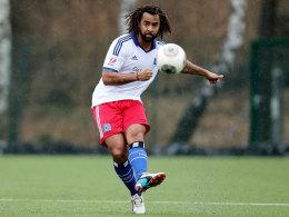 Weiterhin ein Führungsspieler des HSV II: Patrick Owomoyela.