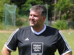 Auf der Suche nach einen neuen Stürmer: Jens Kiefer.