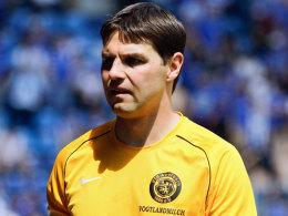 Seine Mannschaft für die anstehende Spielzeit steht: Auerbach-Coach Andreas Richter.