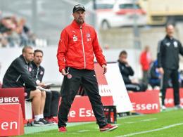 Kann mit RWE noch immer keinen Heimsieg vorweisen: Coach Marc Fascher.