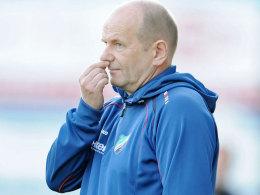 Trainer Mario Ermisch.