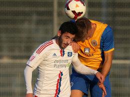 Setzten sich auch in Braunschweig durch: Tolcay Cigerci und die zweite Mannschaft des HSV.