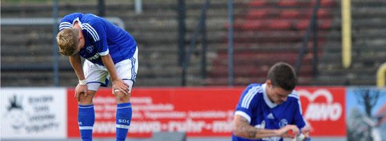 Die Schalker U 23 wartet bereits seit sieben Punktspielen auf einen Sieg und steht folgerichtig auf einem Abstiegsplatz.