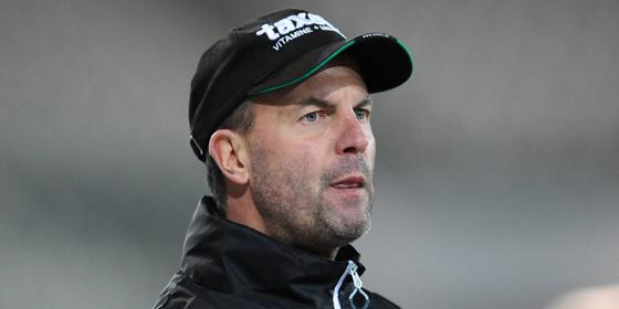War trotz Erreichen der n�chsten Runde nicht komplett zufrieden mit dem Spiel seiner Mannschaft: Essens Trainer Marc Fascher.