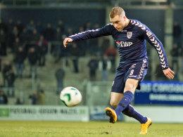 Mittelfeldspieler Tobias Grundler vom SV Babelsberg 03