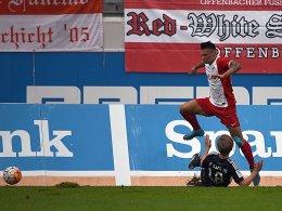 OFC bleibt dran - Keine Punkte f�r Regensburg
