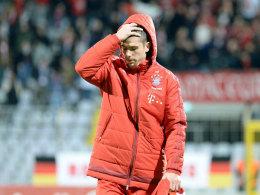 R�ckschlag: Bayerns Ribery f�llt wochenlang aus