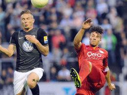 Haut sich ab sofort für den VfB Oldenburg rein: Andreas Pollasch (hier noch im Baunatal-Trikot).