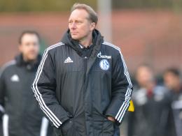 Schalke II-Coach Jürgen Luginger.