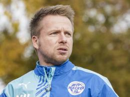 Nordhausens Trainer Martin Hauswald.