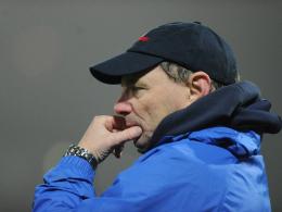 Trier-Coach Peter Rubeck