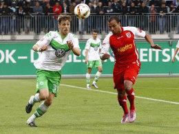 LIVE! Regensburg oder Wolfsburg II - wer steigt auf?