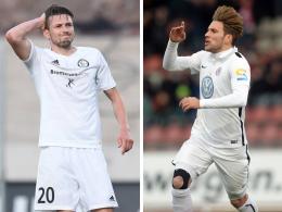 Stuttgarter Kickers holen zwei Top-Torjäger