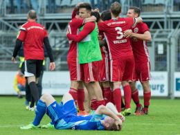 Nach vier Spielen: Rosenheim in der Regionalliga
