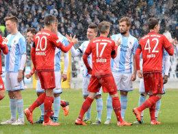 Spielplan: FCB startet gegen FVI - M�nchner Derby am 28.8.