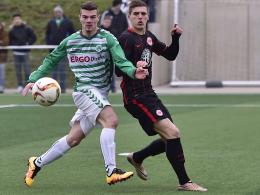 Sturmhoffnung: Kilian Kustermann (l.) ist der zehnte Neuzugang des FC Memmingen.