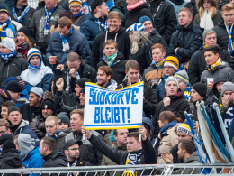 Jenas Fans k�mpfen um ihre S�dkurve