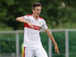 Gunkel begr��t zwei Neue im VfB-Unterbau
